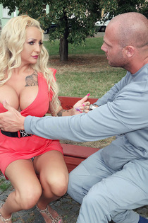 Busty Tattooed Pornstar Bambi Blacks Gets Drilled-00